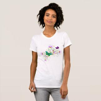 Vector Flowers T-Shirt