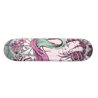 Vector Geisha Beauty Skateboard Deck