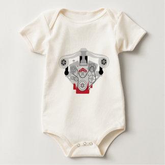 Vector gemelo de Turbo del motor Body Para Bebé