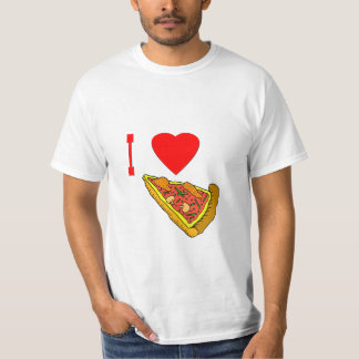 Vector I Love Pizza Slice T-Shirt