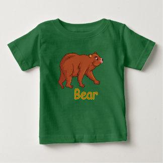 Vector illustration Bear Baby T-Shirt