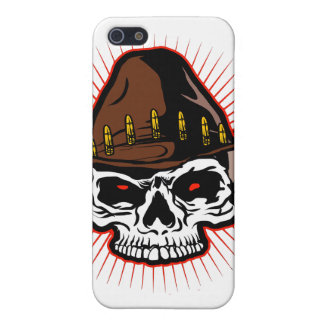 Vector illustration of Cowboy skull iPhone SE/5/5s Cover