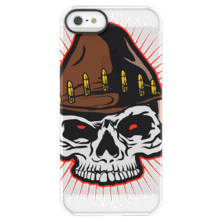 Vector illustration of Cowboy skull Permafrost® iPhone SE/5/5s Case