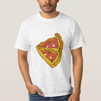 Vector  Italian Pizza Slice T-Shirt