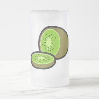 Vector kiwifruit coffee mugs