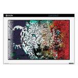vector lepard laptop decal