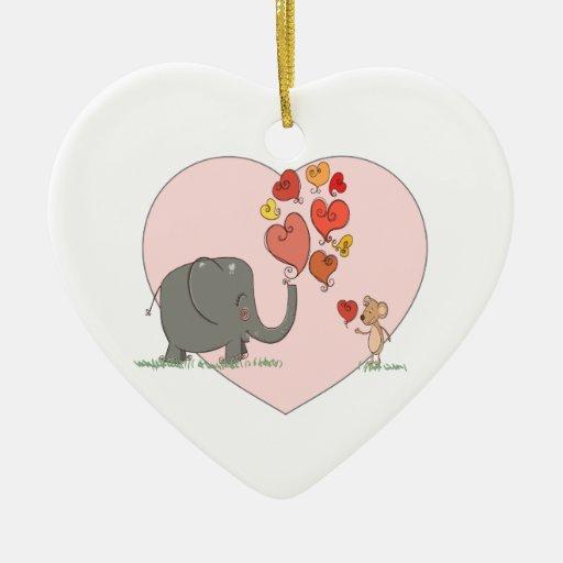 vector lindo del amor de la tarjeta del día de San Ornato