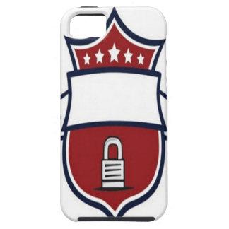 Vector lock shield design iPhone 5/5S case