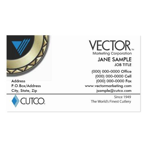 Vector Marketing Business Card : Zazzle