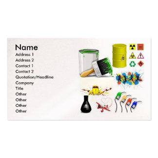 vector_mix, Name, Address 1, Address 2, Contact... Business Card
