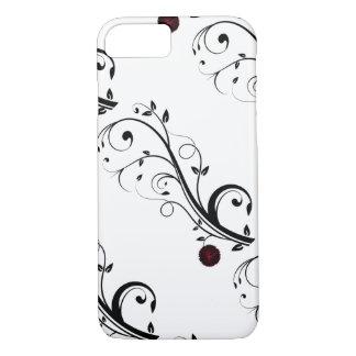 Vector Modern Art Design White iPhone 7 Case