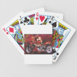 vector motorcycle girl.jpg bicycle playing cards