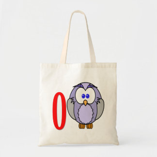 Vector -  old owl tote bag
