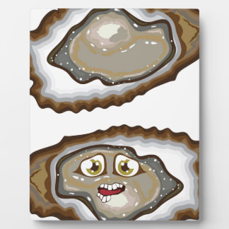 Vector Oysters Plaque