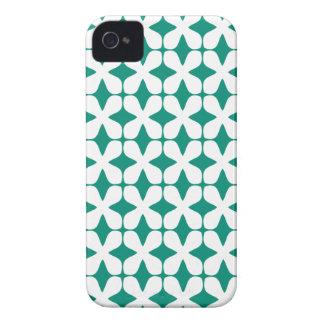 Vector Pattern Ultramarine Green iPhone4S Case