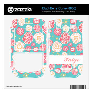 Vector Personalized Name Blackberry Curve Skin