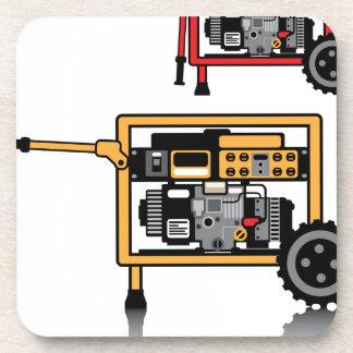 Vector portátil del generador posavaso
