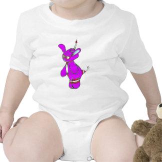 Vector púrpura de Yurple Trajes De Bebé