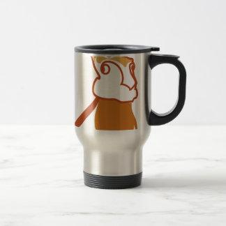 Vector Rabbit Travel Mug