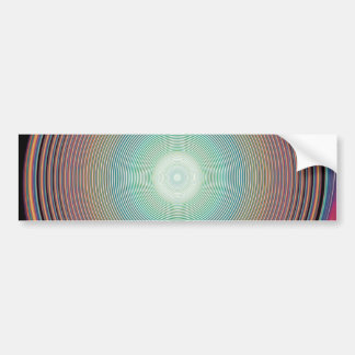 Vector Rainbow Colorful Background 2222 DIGITAL PA Bumper Stickers
