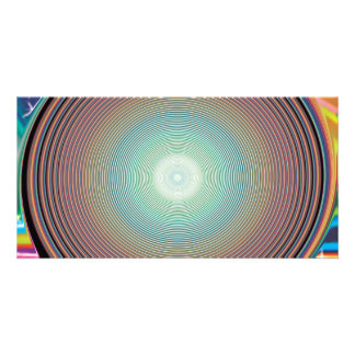 Vector Rainbow Colorful Background 2222 DIGITAL PA Card