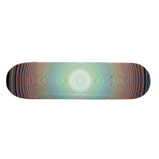 Vector Rainbow Colorful Background 2222 DIGITAL PA Skateboard Deck