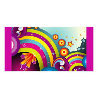 vector_rainbows-1680x1050 personalized photo card