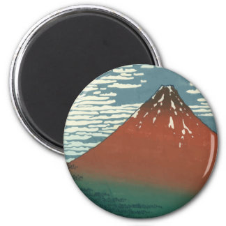 Vector Red Fuji Magnets