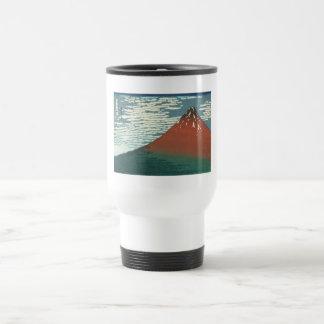 Vector Red Fuji Travel Mug