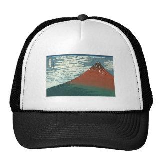 Vector Red Fuji Trucker Hat