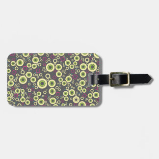 Vector ring pattern tag for luggage