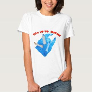 Vector say no to plastic T-Shirt