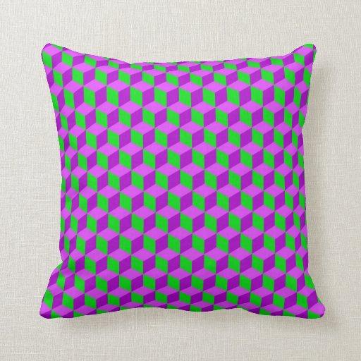 Vector seamless pattern throw pillow Zazzle