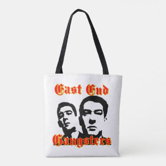 Vector Silhouette East End  Gangster Tote Bag