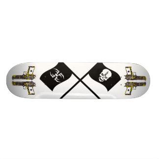 vector-skull-bonus-by-dragonart 2, guns camo 2,... skateboard deck