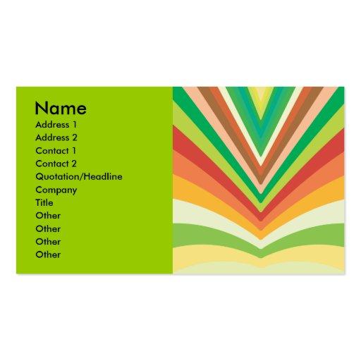 vector-sol-haces, nombre, dirección 1, dirección 2 plantillas de tarjetas personales
