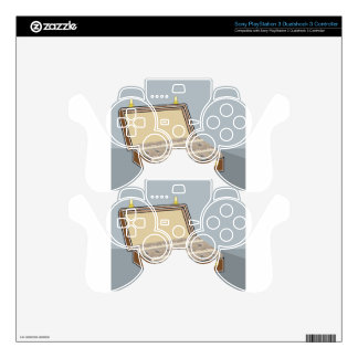 Vector Suitcase with Money Open Skin For PS3 Controller