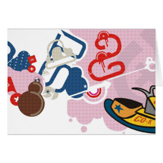 vector tarjeta pequeña