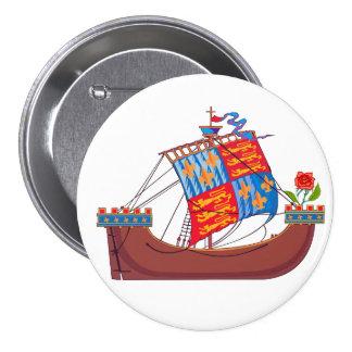 Vector Tudor Ship Button