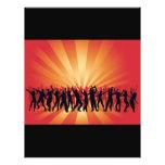 vector www_Garcya_us_dancing de la gente del disco Tarjetones
