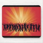 vector www_Garcya_us_dancing de la gente del disco Tapetes De Ratones