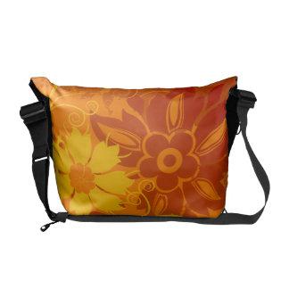 Vectores de la flor bolsas messenger