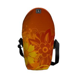 Vectores de la flor bolsa messenger