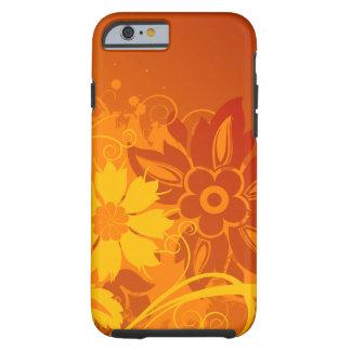 Vectores de la flor funda de iPhone 6 tough