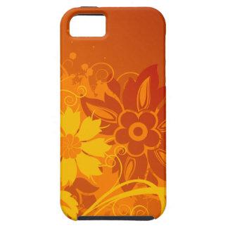 Vectores de la flor iPhone 5 cobertura