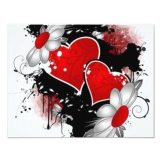 vectores del amor invitación
