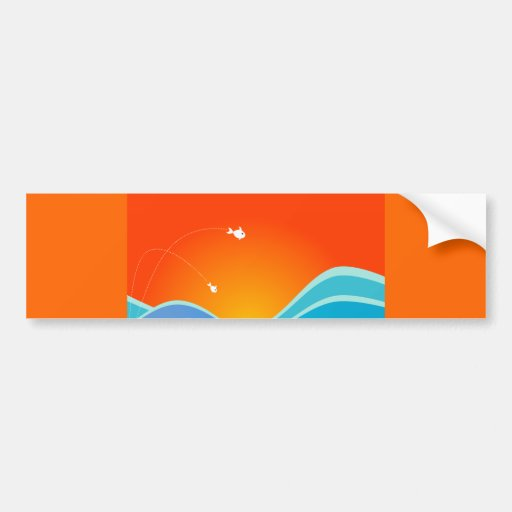 VectorFloral_55.ai Bumper Stickers