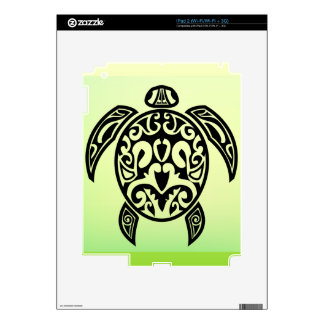 VectorPortal-Turtle-Tattoo-Vector.ai Decal For iPad 2