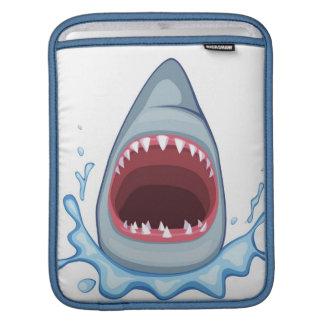 vectorstock_383155 Cartoon Shark Teeth hungry Sleeve For iPads