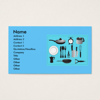 vectorvaco_09101901_kitchen_stuffs_vectors_larg... business card